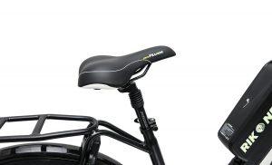 Velo plush saddle midcity commuter rikonda rikonda electric e bikes christchurch nz